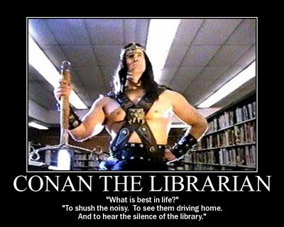 Conan the Librarian pic.